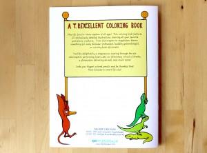 A T. Rexcellent Coloring Book