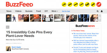 Buzzfeed: 15 Irresistibly Cute Pins Every Plant-Lover Needs