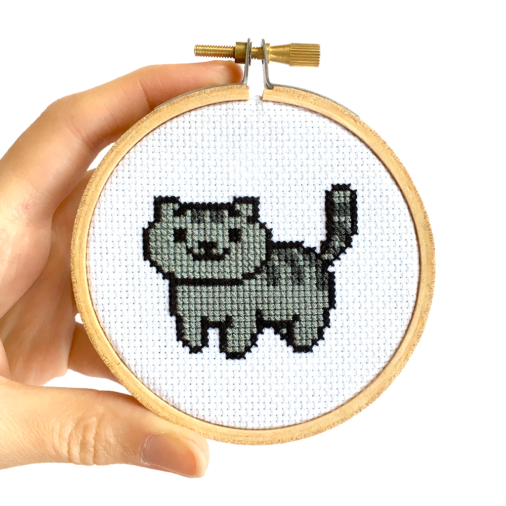 Free Small Dog Cross Stitch Patterns